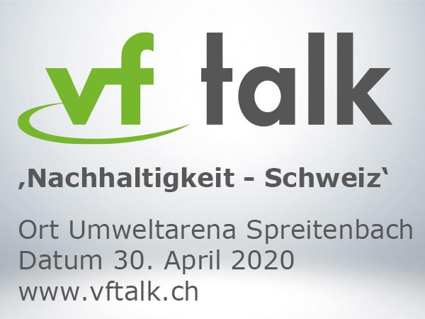 vfTalk 20 – Nachhaltigkeit